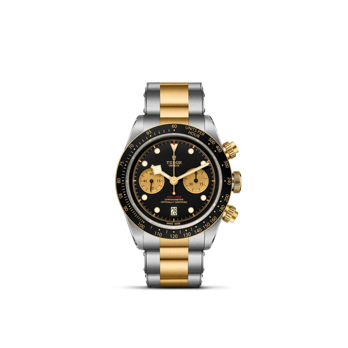 TUDOR Black Bay Chrono S&G ACC/ORO GIALLO NERO/CHAMP