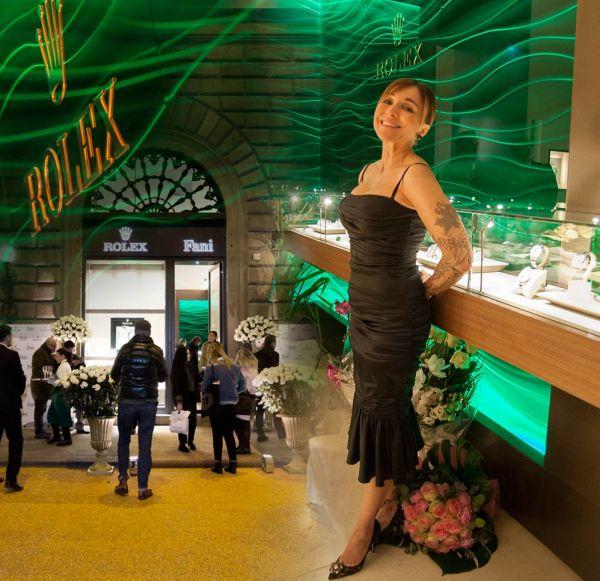 Inaugurazione gioielleria Fani a Firenze
