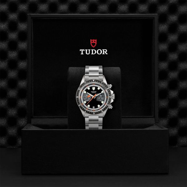 TUDOR Heritage Chrono ACC.70330N NERO/GR