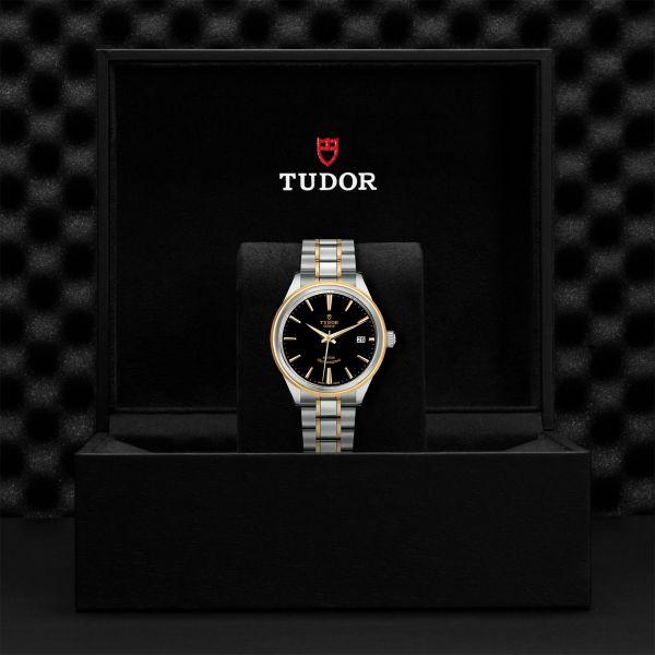 TUDOR Style DATE ACCIAIO 12300 NERO IND