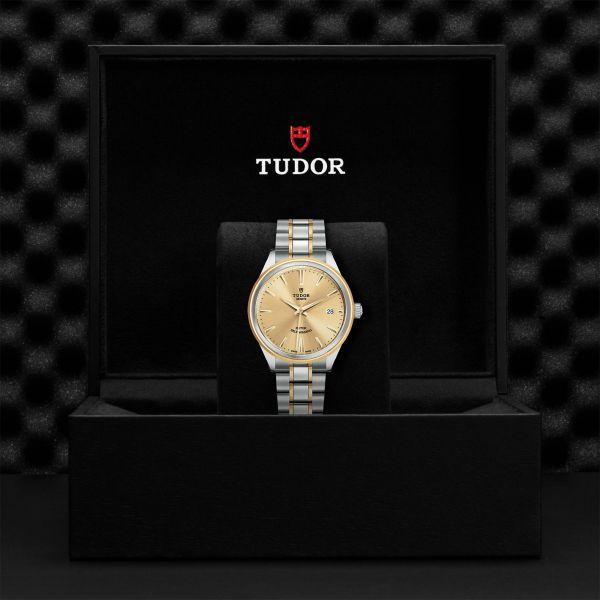 TUDOR Style DATE M/M G.12503 CHAMPAGNE