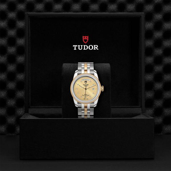 TUDOR Glamour Date+Day M/M G.56003 CHAMP.10D